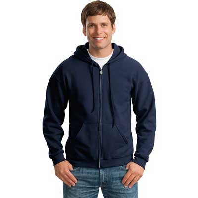Adult's Zippered Sweatshirt