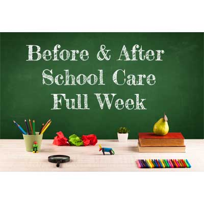 Before & After School Care (Full Week) 21-24 hours per week