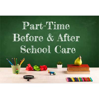 Part-Time Before and After School Care