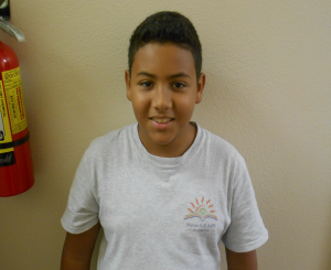 Marcus Moncada - Sept 2017 Student of the Month