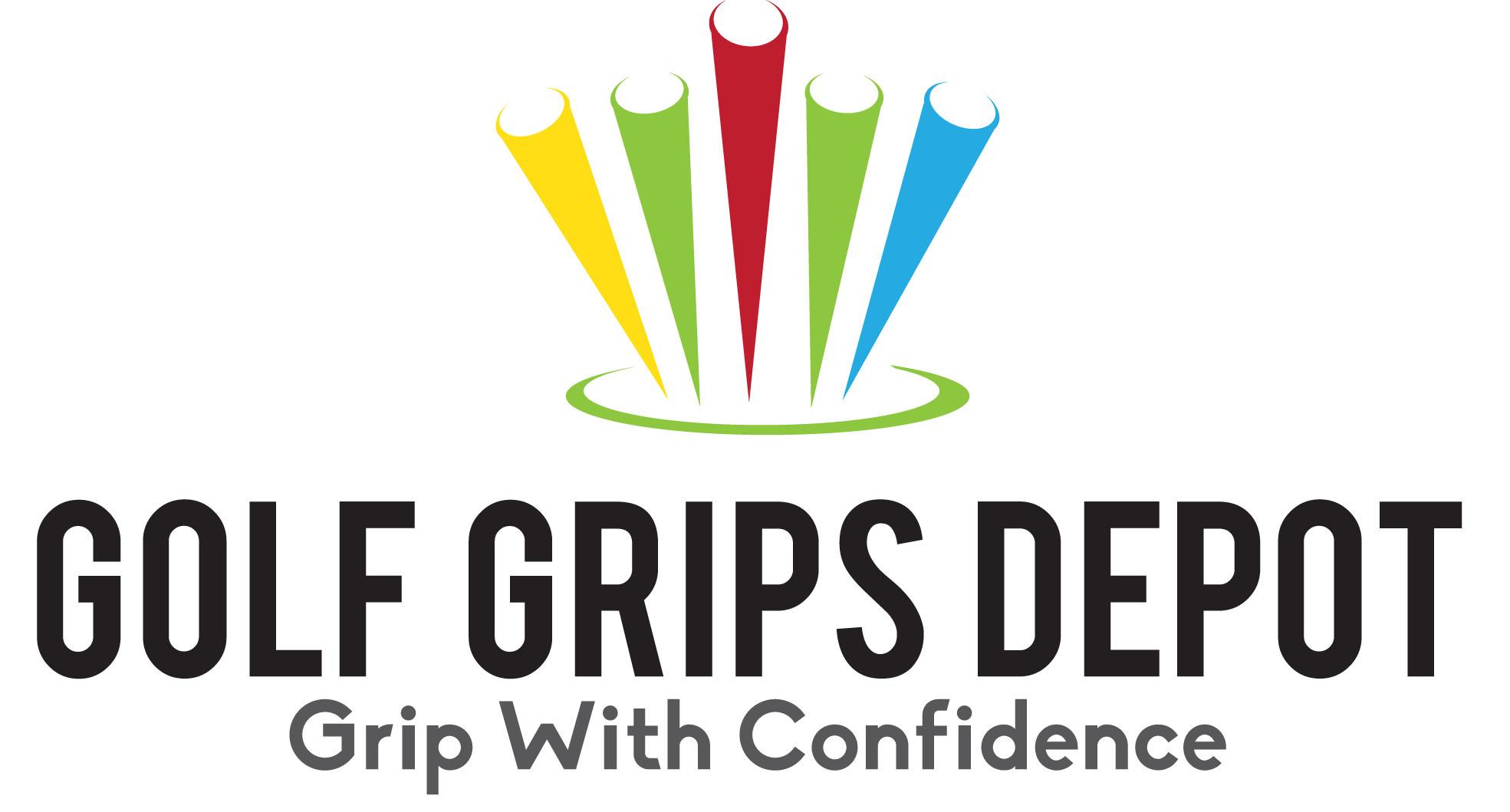 Golf Grips Depot Logo sponsor of New Leaps